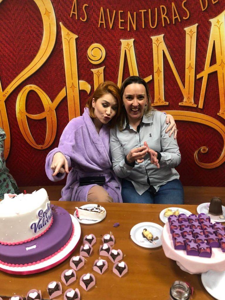 Elenco das Aventuras de Poliana e Lu Chocolates