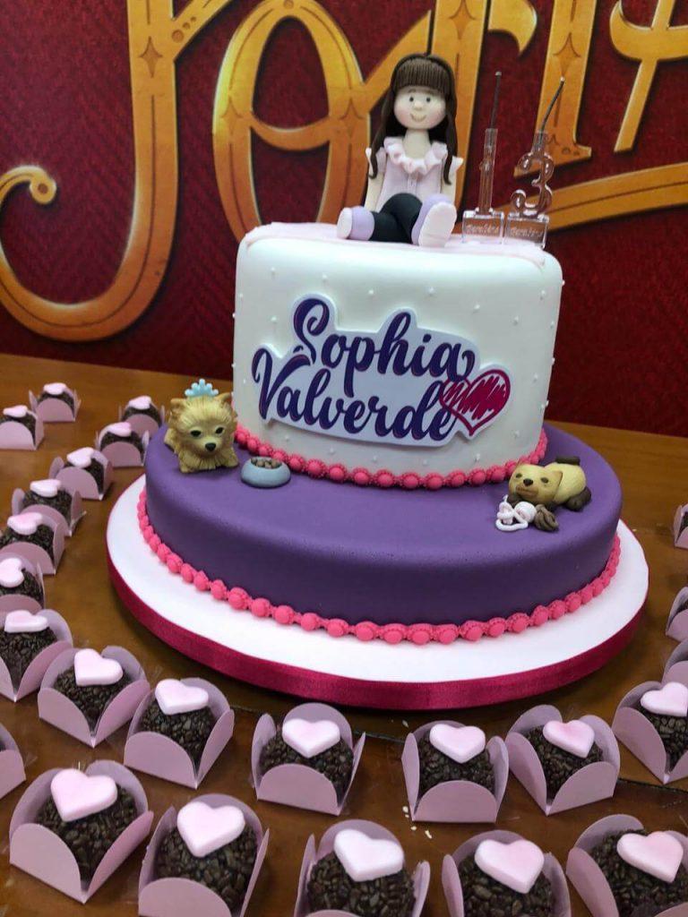 Lu Chocolates e Sophia Valverde